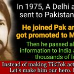 Raw agent Ravinder Kaushil, Indian agent who became pak army major,