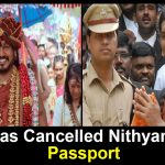 Govt Has Cancelled Nithyananda's Passport