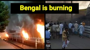 Bengal is burning
