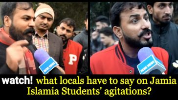 locals of Delhi say on Jamia Islamia Students' agitation