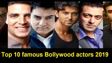 famous Bollywood actors