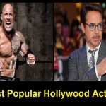 Hollywood actors