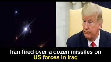 Iran missile strike on US