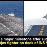 successful landing of Tejas