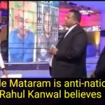Vande Mataram is anti-national