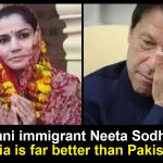 Pakistani immigrant Neeta Sodha
