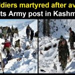 Four soldiers killed in avalanches