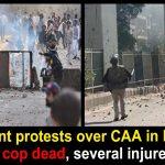 Violent protests