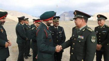 Indian army vs China army