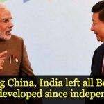 India dares China