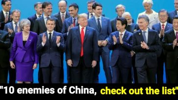 10 enemy countries of China