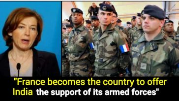 France offers India its military's support