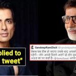 Fan compares Sonu Sood to Amitabh Bachchan; Sonu's reply won our hearts❤️