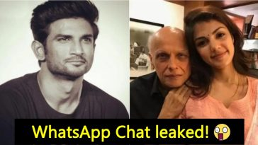 Rhea Chakraborty's private chat with Mahesh Bhatt has finally been revealed, details inside
