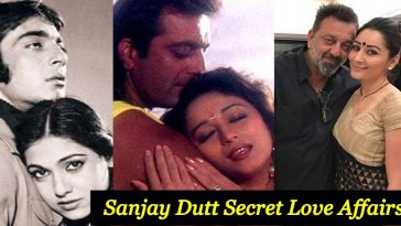List of Celebrities with whom Sanjay Dutt was rumored to be in a relationship