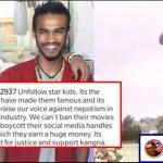 Fan of Sushant asks people to unfollow star kids, Irrfan Khan's son reacts