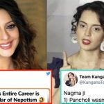 Kangana gave a mouth-shutting reply to Nagma for spreading lies