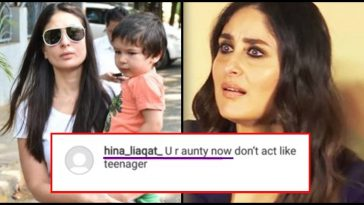 Guy calls Kareena Kapoor 'Aunty'; this is how she reacted