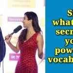 When a Girl asked 'what's the Secret to your powerful vocabulary', Shashi Tharoor answers with a smile