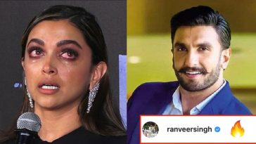 Ranveer Singh finally breaks his silence on Deepika's depression, read details