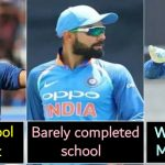 5 Famous Cricketers and their education qualifications that their fans didn't know