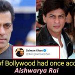 When Salman accused Aishwarya of cheating on him with Shah Rukh Khan