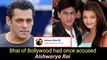 When Salman accused Aishwarya of cheating on him with Shah Rukh Khan