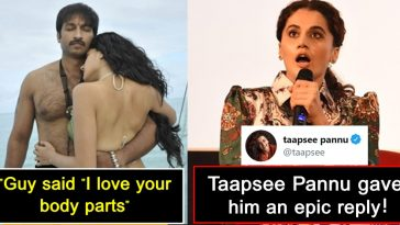 Taapsee Pannu replied to a guy who crossed his limits while complimenting her