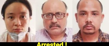 journalist arrested