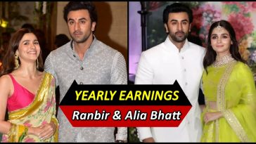 Ranbir Kapoor and Alia Bhatt's Salary in a year revealed, it is mind-boggling!