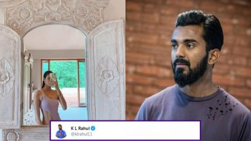 KL Rahul reacts to Athiya Shetty's recent Swimwear picture, check out his comment on Instagram