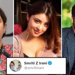 Smriti Irani reacts to Payal Ghosh's MeToo claim against Anurag Kashyap
