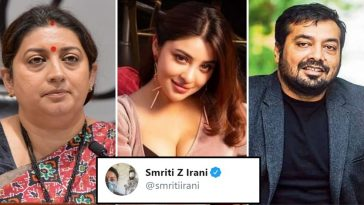 Smriti Irani reacts to Payal Ghosh's MeToo claim against Anurag Kashyap