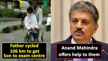Anand Mahindra does it again, offers help to man who cycled 106km to get his son to exam centre