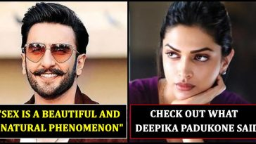 Power couple of Bollywood - Deepika and Ranveer give bold statement about Sex
