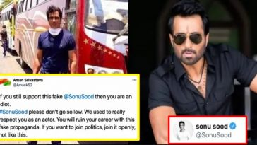 Twitter User criticises Sonu Sood for running 'Fake Charity', Actor slams him with Proofs