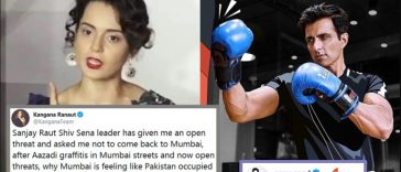 Sonu Sood gave the best reply to Kangana Ranaut's PoK remark