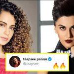 Kangana Ranaut called Taapsee Pannu 'B-grade actress', Taapsee silences her