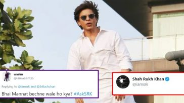 User asks SRK if he wants to sell his house Mannat, his reply wins internet