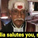 lawyer Acharya Shyam Upadhyay