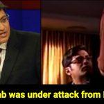 ISI agents stopped Arnab Goswami show