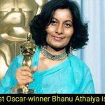 IndiaOscar-winner Bhanu Athaiya