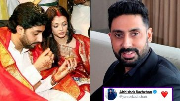 Abhishek Bachchan reveals he didn't Marry Aishwarya Rai 'for her Looks' But for this reason