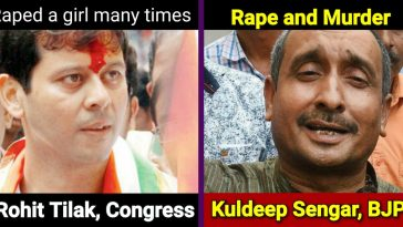 List of 12 Indian politicians who are 'accused' of rape, every Indian must know