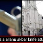 Russian Teenager shot dead on the spot after he shouts 'Allahu Akbar' and stabs cop