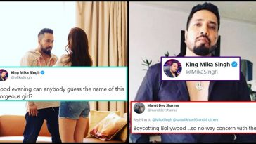 Mika Singh silences a Twitter user who asked to 'Boycott Bollywood'