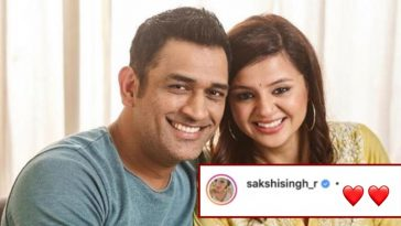 MS Dhoni's wife Sakshi Dhoni posts a 'Heartfelt Poem' after CSK got knocked out of IPL