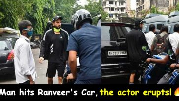 Ranveer Singh's car hit by bike rider in Mumbai; this is how the actor responded