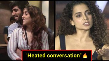 Kangana Ranaut engaged in a heated conversation with Aamir Khan's daughter