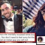 Maxwell's wife shuts down racist troll after he tells her to ditch him